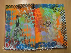 Crea Myriame: Journal pages