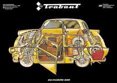 Werbung für den Trabant