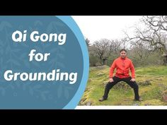 Qi Gong for 'Grounding' and Calming a Busy Mind -with Jeffrey Chand One Song Workouts, Mini Workouts, Cheer Workouts, Workout Songs, At Home Workouts, Morning Workouts, Reiki Meditation, Meditation Music, Tai Chi Video