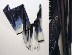 Grethe Wittrock artwork out of sails and paper
