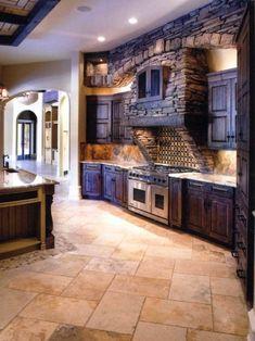 cuisine chene massif, plan de travail en chene massif, meubles de cuisine en…