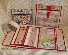 Strikkepinnemapper i 2 str Knitting Needle Storage, Knitting Needles, Quilt Patterns, Knitting Patterns, Sewing Patterns, Knitting Projects, Sewing Projects, Knit Basket, Diy Couture