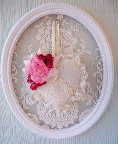 Idee romanticissime per contornare di pizzo i dettagli della casa Shabby Chic