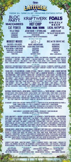 Latitude 2013 - i was there!!!! it was so good :D