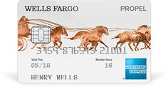 Wells Fargo PROPEL card