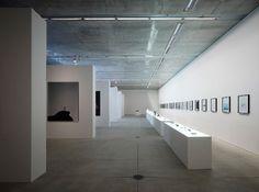 I always enjoy the clean and minimal interiors of exhibition spaces. Naoto Fukasawa and Tamotsu Fujii exhibition, The Outline, in Tokyo. Photo by Masaya Yoshimura.