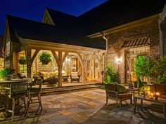 Browse beautiful patio designs that showcase inventive hardscaping and stylish finishing touches from the experts at HGTV.com.