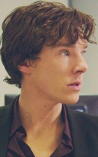 Benedict Cumberbatch as Sherlock Holmes,   He looks so young