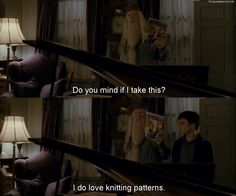Knitting (Harry Potter and the Half-Blood Prince)