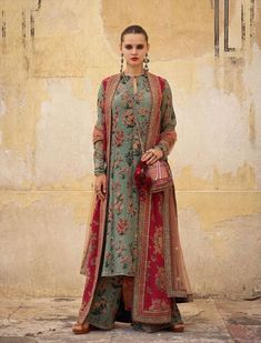 2019 Sabyasachi Charbagh Bridal Lehenga collection has a bunch of traditional red wedding lehengas, some gorgeous destination wedding outfits + lots more. Sabyasachi Dresses, Nikkah Dress, Lehenga Choli, Anarkali, Sabyasachi Lehenga Bridal, Pakistani Dress Design, Pakistani Outfits, Indian Outfits, Kurti Designs Party Wear