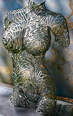 steel sculpture The shift by SplintersOfSteel on Etsy