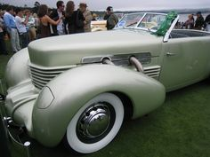 1937 Cord. Man I cannot wait for the Auburn, Cord, and Dusenburg parade this year. They represent a time when cars actually had appeal and craftsmanship, while being elegant at the same time