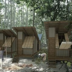 Six finalists have been announced as voting closed on the 300House project - contestants around the world were challenged to design a house that could be constructed for less than US$300.