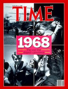 TIME Cover: 1968 Related Categories: Civil Rights, Anniversaries, Kennedys, Assassinations