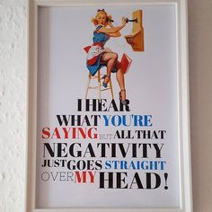 I love this beautiful quirky Pin-Up girl quote print!:smile::two_hearts: I'm so excited to create a wall of different body confidence and inner beauty quotes in my house... A confidence wall I think I'm going to call it! :smile::two_hearts::kiss: haha  If