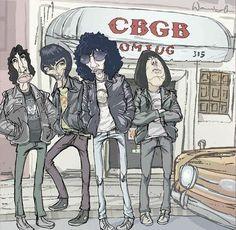 Ramones, imágen de  theramones
