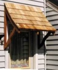 Woodcraft Woodworking Project Paper Plan To Build Door Window Awning