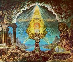 """Gnostics hold that this world is essentially a prison for the spirit. """"The Gnostics, inheriting Plato's dualism, divided the world into matter and spirit ..."""