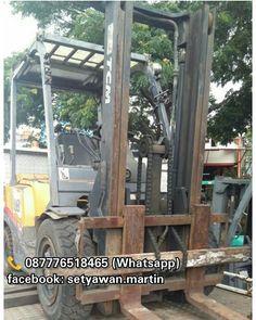 [ FOR SALE ] Forklift TCM 3 Ton Inoma, Manual, Lifting Height 3M, Diesel Engine Isuzu C240,  087776518465 (Whatsapp)