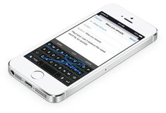 This is a great list of ios keyboards! There's even a drawboard, no letters, just space to draw!