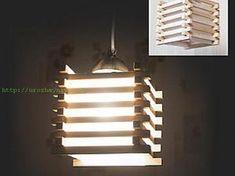Деревянный светильник своими руками | Урожайная дача, интернет журнал, все о даче
