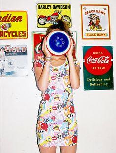 Nasty Gal Stickers Dress