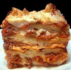 Italian Lasagna Bolognese RECIPE