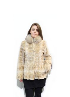 Fashion Fur Jacket in Many Different Colors F193 #fur #coat #fox #collar #jacket #winterfashion