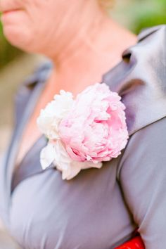 Mother-of-the-Bride Blush Pink Peony Corsage Peony Bouquet Wedding, Corsage Wedding, Peonies Bouquet, Bridesmaid Bouquet, Wedding Flowers, Mother Of Bride Corsage, Wedding Stills, When I Get Married, Blush Pink Weddings