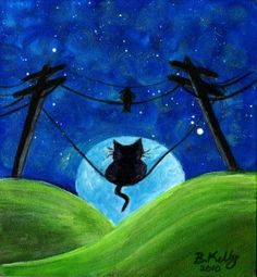Original, cute, whimsical, acrylic paintings, watercolor paintings, ACEO ,drawings, pendants by artist B. Kelly. FREE SHIPPING!    I hope you enjoy...