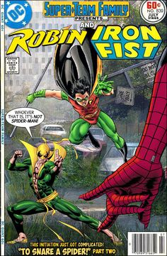Super-Team Family: The Lost Issues!: Robin and Iron Fist