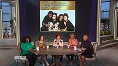 "The hosts of ""The Talk,""  Julie Chen, Eve, Sharon Osborne, Sara Gilbert and Sheryl Underwood, revealed the 45th Annual Daytime Emmy Award..."