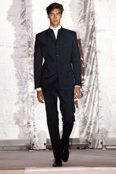 Image result for mandarin collar suit