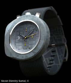 Concrete watches