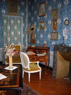 Nohant-Vic (Indre) - Domaine de George Sand -  chambre de George Sand