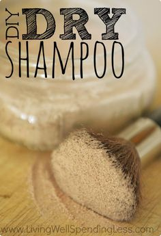 DIY Dry Shampoo - Living Well Spending Less™ @Jasmine Ann Leque great find!