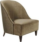 No. 6311  JOSEPHINE CHAIR    A gondola chair with the hint of a side panel typical of a bergère. Tight back and seat. Tapered legs     Named for the first Empress of France, this chair wraps the body not unlike the shawls favored by Josephine. Stylish and practical, European height chairs of this nature have long been fixtures in the best French fashion houses - for marking and hemming a custom gown.  #Furnitureland South #Baker #Furniture #Oscars #Greenroom