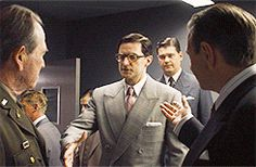 I don't remember...did Tommy Lee Jones even shake his hand?  > Richard Armitage as Heinz Kruger
