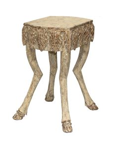 stag leg table from Bliss
