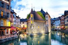 Annecy, France We know you love Paris, Venice, and Florence. This Valentine's Day—or on a romantic weekend away—seek out the quiet romance of these secluded small towns across Europe instead. Tenerife, Romantic Weekends Away, Lake Annecy, Belle France, Le Havre, Fishing Villages, Most Beautiful Cities, Most Romantic, Romantic Places