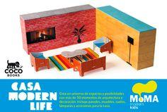 #Infantil / Diseño e Ilustración #MoMAKids CASA MODERN LIFE #CocoBooks