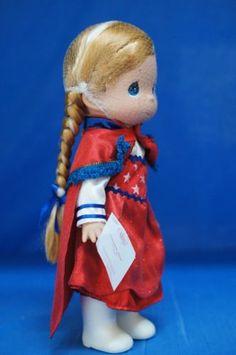 Frozen-Anna-Freedom-Doll-Precious-Moments-Disney-5842-Signed-LE60