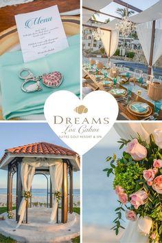 Plan your dream destination wedding at Dreams Los Cabos Suites Golf Resort & Spa!