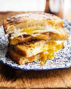 in the kitchen with: lara ferroni's monte cristo with fried eggs
