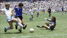 """6 anni prima del gol più bello della storia del calcio, """"El Pibe De Oro"""" Diego Armando #Maradona realizzò un'altra perla rara, inedita fino a pochi giorni fa."""