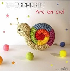 DIY-Rainbow-Crochet-Snail-Amigurumi-Free-Patterns-2-fabartdiy