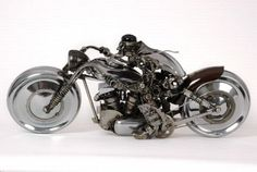 The Astonishing Car-Part Art of James Corbett