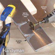 Stainless Steel Kitchen Backsplash