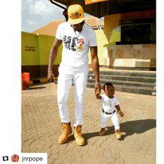 Like father, like son  #NollywoodDad #Nigeria #nollywood #naija  #Repost @jnrpope with @repostapp ・・・ In the nick of time his blessings rain on me.#Godisthegreatest..#POPEISDOPE @qutejay @swagprincejason @sandraokpuno @planetzozo #swagsoldiers #swagnation #originality #irepukehe #irep042 #irepnsukka