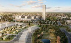Luanda University Hospital, Camama, Cabiri, Angola, 2014 | Design - Eduardo…